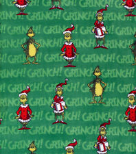 CHRISTMAS VALANCE w/ THE GRINCH ON GREEN
