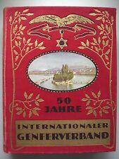 50 Jahre Internationaler Genferverband 1927 Genf Schweiz