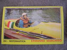 FIGURINA PANINI CAMPIONI DELLO SPORT 1970/71 # 204 - ERMANNO MARCHISIO