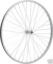 REAR ALLOY BIKE WHEEL 700c WITH SOLID AXLE NEW FREE P&P