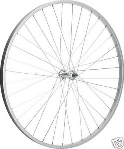 FRONT ALLOY BIKE WHEEL 700c WITH SOLID AXLE NEW