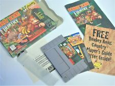 SNES Video Game System Donkey Kong Country 1 Super Nintendo Complete
