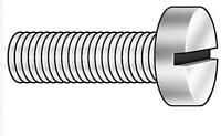 "#10-32 x 3/8"" Fillister Head Slotted Machine Screw, 125pk #179"