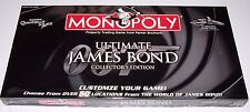 James Bond 007 Ultimate Monopoly Board Game NIB 2008