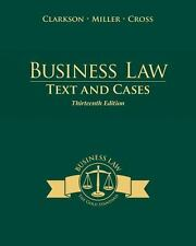 Business Law: Text and Cases 13th Edition Clarkson Miler Cross PDF FILE