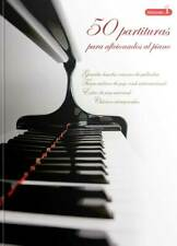 """VOLUMEN 1 - """"50 PARTITURAS PARA AFICIONADOS AL PIANO"""""""