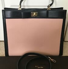 Kate Spade Black/Pink Leather Hand/Shoulder Bag, EXCELLENT CONDITION, Very Rare