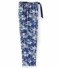 Tommy Bahama Men's Blue Floral Woven Pajama Pants Medium