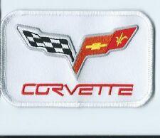 CORVETTE 2 flags driver PATCH 2-1/2 X 4 #2179
