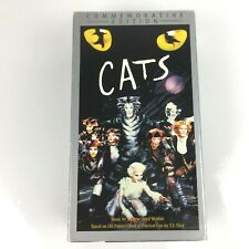 CATS The Musical (VHS, 2000) 2- Tapes Commemorative Edition
