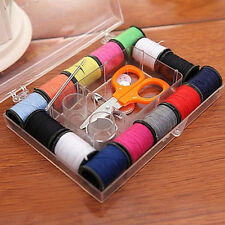 Sewing Set Accessory Set Kit With Thread Needles Scissors Safety Pins Holiday