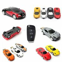 Luxury Car 4GB 8GB 16GB 32GB U Disk Flash Drive USB Memory Stick Pen Storage HOT