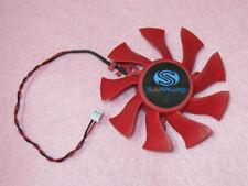 75mm Sapphire XFX HD4860 HD6850 HD6870 Fan Ersatz 39mm 2Pin FD8015U12S R89a