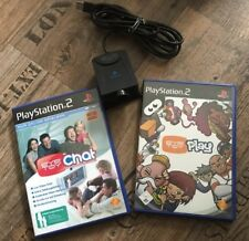 Eye Toy Play & Eye Toy Chat inkl. Kamera PS2 PS PlayStation Play Station Move
