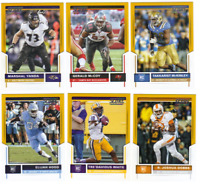 2017 Panini Score Football -  Gold Parallels - Choose From Card #'s 1-440