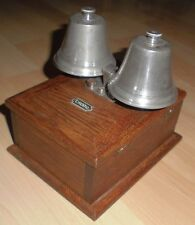 telefon doppel klingel glocke 600 ohm kasten wecker 2 glocken alt antik top deko