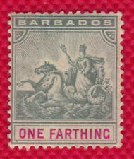 1904 Barbados 90 mint - Badge of Colony