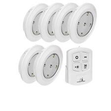 lámparas  LED Push On/OFF + mando a distancia 6 unidades Maclean MCE165