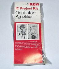 RCA Radio Electronic Co. vintage Oscillator - Amplifier UNBUILT electrical KIT