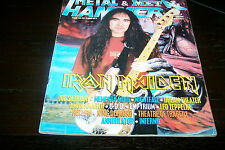 METAL HAMMER MAGAZINE 4/1998 IRON MAIDEN JOE SATRIANI AMON AMARTH KING DIAMOND