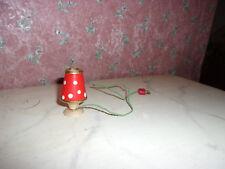 Alte Tisch-Lampe-50er Jahre-Design-Puppenhaus-Puppenstube-ca 1:12
