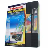 Head Cleaning Video Tape Cassette for VHS VCR Player Recorder Wet or Dry Cleaner