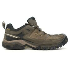 Keen Mens Targhee III Leather Outdoor WP Low Hiking Shoes Size US 10.5 EU 44