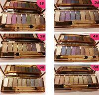 New Diamond 9 Colours Glitter  Eyeshadow Palette Makeup Eye shadow Set  UK