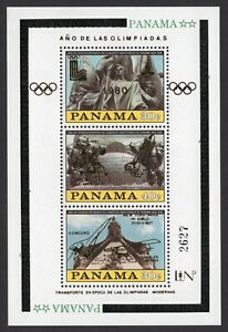 Panama 1980 block of stamps Mi#Bl.113 MNH CV=35€