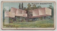 1906 Santos Dumont's Monoplane  Aviation Pioneer 100+ Y/O  Trade Ad Card