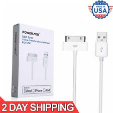Cable Blanco USB de Carga y Sincronizar Datos de 6 pies Para Apple iPad 1 2 3