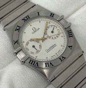 OMEGA Constellation Day Date Chronometer Quartz 34mm Gents Steel [1980142]