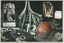 Switser Sports 6X9 Tribute sheet,Kevin McHale,Boston Celtics,#'d03822/25,000,EX+