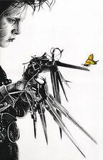 Edward Scissorhands Johnny Depp butterfly print