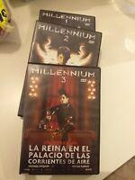 Dvd lote millennium 1 , 2 y 3de stieg larsson