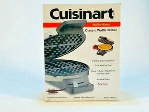 Cuisinart WMR CA Round Classic Waffle Maker with 5 Setting Browning Control NIB
