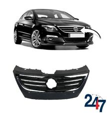 NEW VOLKSWAGEN PASSAT CC 2008 - 2012 FRONT BUMPER CENTER GRILL WITH PDC HOLES
