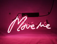 """MOVE ME BEER BAR CLUB LAMP POSTER NEON LIGHT SIGN 13"""" X 7"""" TN044"""