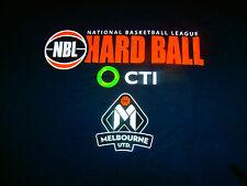 RARE Limited Melbourne United HARDBALL NBA NBL Basketball Jersey T-Shirt Men L