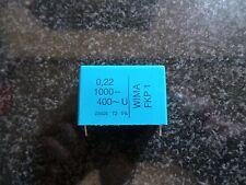 WIMA FKP1 Folienkondensator 0,22µF 1000- 400~ U 5%