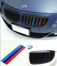 3Colours Front Grille Grill Vinyl Strip Sticker For BMW M3 M5 E46 E60 E90 E92