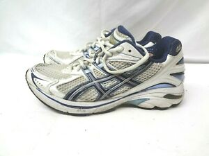 Asics GT 2140 Running Shoes Women's Size 8.5 M White Blue Style T954N
