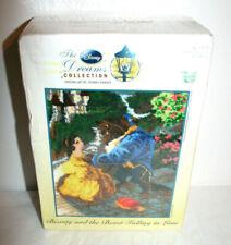 NEW DISNEY Dreams Collection Thomas Kinkade Beauty & The Beast Latch & Hook Kit