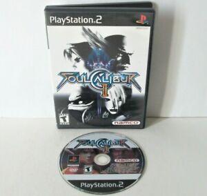 Soul Calibur II 2 Sony PlayStation 2 PS2 Black Label Game Disc Arcade Fighting