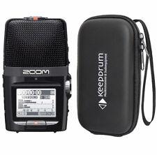 Zoom H2n Audio-Recorder + keepdrum Soft-Case Tasche