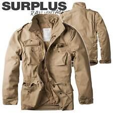 Surplus militare Mens Shirt Raw Vintage Stile Classico Manica Corta 100/% COTONE