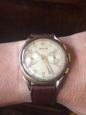 Helvetia vintage valjoux 23 chronograph crono column wheel