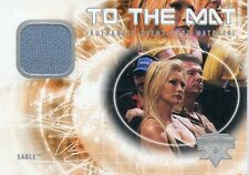 2004 FLEER WWE WRESTLEMANIA XX TO THE MAT SABLE EVENT USED RING MAT