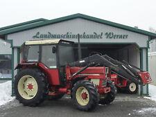 Allrad Traktor IHC 844 AS mit Frontlader, Schlepper, Bulldog, Euroaufnahme