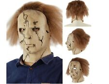 Scary Michael Myers Slasher Film Latex Halloween Mask